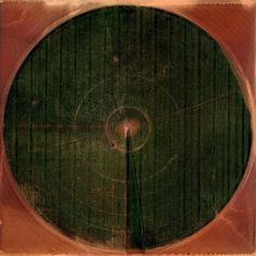 Marco Cadioli - Squares with Concentric Circles  (Squares with concentric circles seen from above from the Google Earth Satellite)