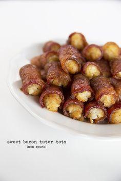 Sweet Bacon Tater Tots Recipe