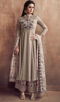 Stitched readymade muslin kameez plazzo dupatta indian women suit size l xl xxl Muslim Fashion, Indian Fashion, Dubai Fashion, Women's Fashion, Fashion Outfits, Trendy Outfits, Cool Outfits, Stylish Dresses, Suits For Women