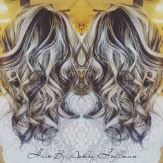 Platinum Blonde Highlights With Dark Chocolate Brown Low Lights