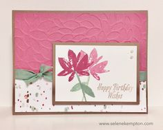 A blog about DIY rubber stamping projects.  I use all stampin up products.