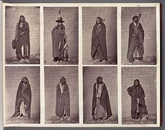 A pair of photo albums, recataloged after more than 130 years at Harvard, reveals a vanishing world of North American Indians. Native American Photos, Native American Indians, Native Americans, American History, Rare Images, Rare Photos, Nebraska, Oklahoma, Peabody Museum