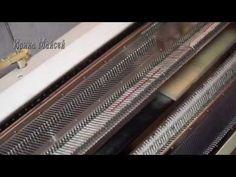 Смазка вязальной машины - YouTube