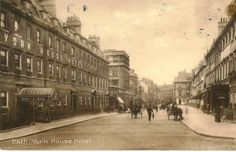Around our office in George St #Bath in more peaceful times (1907).