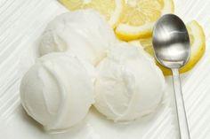 Citrónová zmrzlina