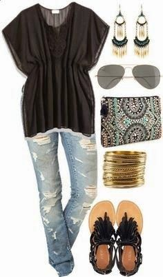 casual outfits for summer 2014