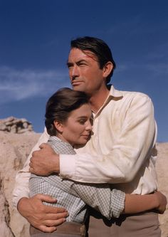 Gregory Peck and Jean Simmons, The Big Country (1958)