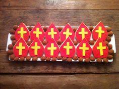 Koekjes Mijter van Sinterklaas