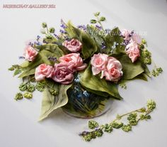 Gallery.ru / Фото #118 - Вышивка лентами 2 - neserchay