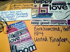 Second international order sent & received! Order yours today: caboom-sass.com!