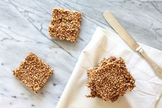 Cacao Millet Puff Squares: Think Of Them As Guilt-Free Rice Krispie Squares! | So Fawned