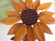 Decorative Wooden Flower by RoniSeaVintage on Etsy, $15.99