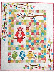 New Quilt Patterns - Hoots Hollow Quilt Pattern