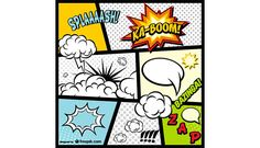 Comic Book page elements