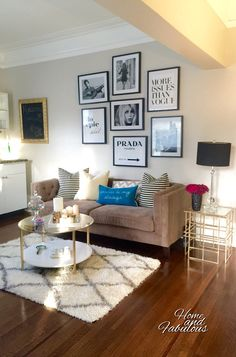 Modern meets vintage with this beautiful gold side table from @homegoods (sponsored pin)