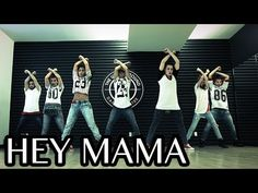 HEY MAMA - David Guetta ft Nicki Minaj & Afrojack Dance | @MattSteffanina Choreography - YouTube