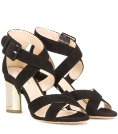 NICHOLAS KIRKWOOD Prism 85 Suede Sandals. #nicholaskirkwood #shoes #sandals