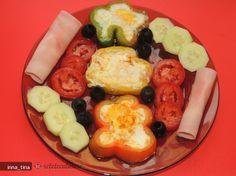 Mic-dejun cu Oua in Ardei