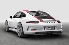 Nouvelle Porsche 911 R.                                                                                                                                                      Plus
