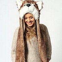 echarpe-bonnet-fourrure-renard