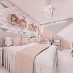 50 Gorgeous Bedroom Design And Decor Ideas For Girl Girls Bedroom Ideas Bedroom Decor design Girl Gorgeous Ideas Cute Bedroom Ideas, Cute Room Decor, Girl Bedroom Designs, Teen Room Decor, Bedroom Design For Teen Girls, Design Bedroom, Small Room Bedroom, Bedroom Colors, Room Decor Bedroom