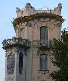 Casa La Fleur by Pietro Fenoglio (1865-1927)