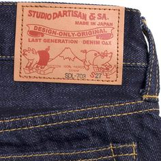 Studio D'Artisan - 703 Ladies Slim Selvage Jeans