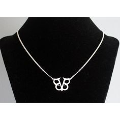 Black Veil Brides BVB necklace Black Veil Brides logo sterling silver... (€60) ❤ liked on Polyvore featuring jewelry, necklaces, gothic necklaces, steampunk necklace, bridal jewelry, steam punk jewelry and gothic jewelry