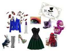 """Mad Hatter's woman"" by mariaisametaphor on Polyvore"