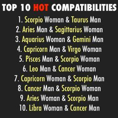 Scorpio woman best compatibility