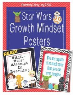 Welcome students and classroom guests with these bright, colorful Star Wars Growth Mindset posters. This purchase includes multiple different files of ten different Growth Mindset posters in the theme. Step-by-step instructions for uploading these images to Vistaprint.com are provided; however, they can also be printed at other