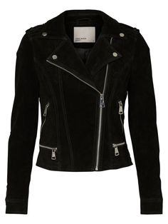 Love this suede jacket from VERO MODA - a musthave item! Use over a sweater and skinny jeans.