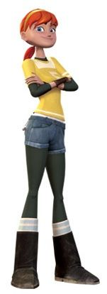 April O'Neil: Nickelodeon 2012 Version... possible Halloween costume?