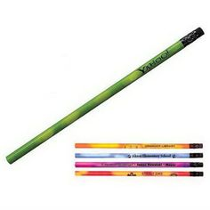 Are you in the mood to feature something unique at your next company event? Then the Mood Pencil is the right choice. This quality wood pencil change colors by the heat of your hand. This cool item features Number 2 graphite lead and black ferrule and eraser. Choose this bright American-made item for a fun way to promote your business. Think Pink. There are no screen or logo charges. Warning: Severe weather conditions may affect the mood change.  Let them see how you are feeling with…