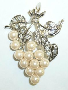 Jewelry Pin - Pearl Grapes Pin Goldfinger Jewlery. $7.95. Jewelry Pin -Pearl Grapes Pin. Save 60%!