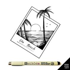 polaroid like this…LOVE how the palm tree extends beyond boarders! – Laura K polaroid like this…LOVE how the palm tree extends beyond boarders! polaroid like this…LOVE how the palm tree extends beyond boarders! Doodle Art, Doodle Drawings, Easy Drawings, Summer Drawings, Cute Drawings Tumblr, Love Drawings, Tattoo Drawings, Palm Tree Drawing, Beach Drawing