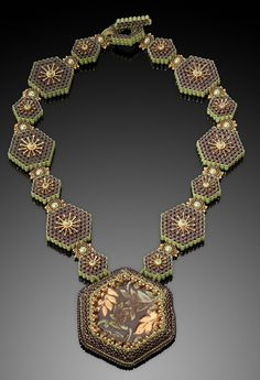 ~~Kathy King beaded necklace~~
