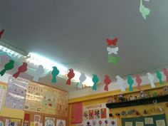 Brain Models, Independence Day Decoration, National Festival, Room Crafts, 15 August, Republic Day, School Decorations, Bulletin Boards, Costa Rica