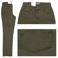 MAC Stretch Damen Jeans / Form: Gracia / Farbe: oliv - FarbNr.: 676R / im MAC Jeans Online Shop