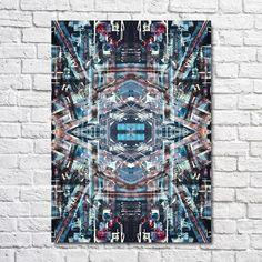 Ellwood Daniels, abstract, scalpel artwork, digital colour, size A1, more originals at www.ellwooddaniels.com City Photo, Colour, The Originals, Abstract, Digital, Artwork, Color, Summary, Work Of Art