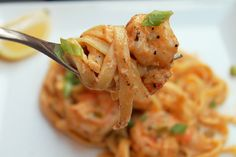Creole Contessa: Greek Shrimp Alfredo