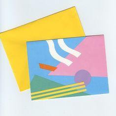 / 80s envelope.