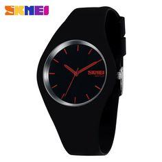 New Fashion Famous Brand Silicone Women Watch Quartz Casual Watch Style Women Dress Watch Jelly Wristwatch For Women Girls Lady