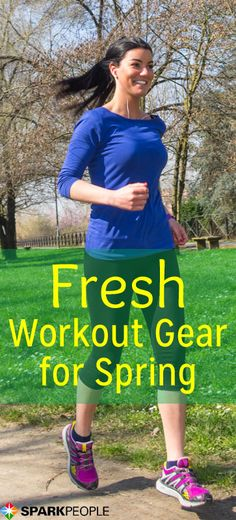 Fresh Workout Gear for Spring! These are SO cute!! | via @SparkPeople #spring #workout #fitness