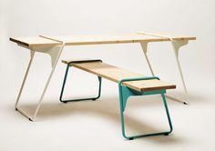 Flex table from March Gut | Flex tafel van March Gut
