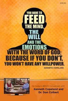 This Wednesday 2/24, on the Believer's Voice of Victory broadcast, Kenneth Copeland and Dr. Don Colbert reveal that you are delivered once and for all from the destructive effects of the curse. Learn to follow the guidelines in God's WORD to become aware of the enemy's plan. - See more at: http://www.kcm.org/watch/tv-broadcast/delivered-once-and-all#sthash.OmPHltDe.dpuf
