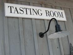 Tasting Room - Lava Vine Winery Calistoga.