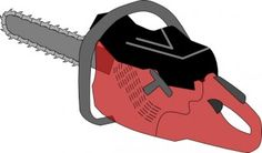 chainsaw clipart - Google Search