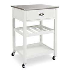 Threshold™ Stainless Steel Top Kitchen Cart