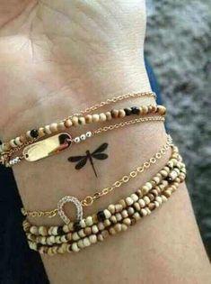 Libelle Handgelenk